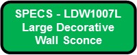 CUBICKL LARGE LED SPECS LDW1007L