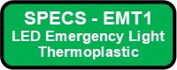 EMT1 Emergency Thermoplastic Button