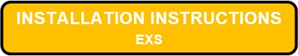 EXS LED Steel Exit Sign Installation Instructions Button