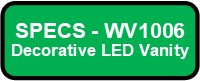 WV1006 LED GLAZE Button